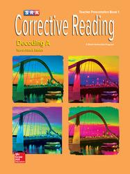 Corrective Reading Decoding Level A, Presentation Book 1