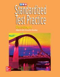 Corrective Reading Decoding Level A, Standardized Test Practice Blackline Master