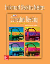 Corrective Reading Decoding Level A, Enrichment Blackline Master