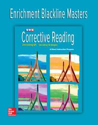 Corrective Reading Decoding Level B1, Enrichment Blackline Master