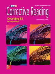 Corrective Reading Decoding Level B2, Presentation Book