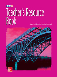 Corrective Reading Decoding Level B2, Teacher Resource Book