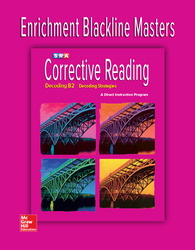 Corrective Reading Decoding Level B2, Enrichment Blackline Master