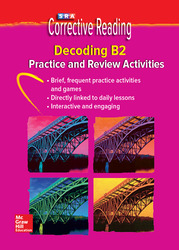 Corrective Reading Decoding Level B2, Student Practice CD Package