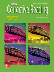 Corrective Reading Decoding Level C, Presentation Book 1