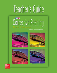 Corrective Reading Decoding Level C, Teacher Guide