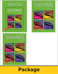 Corrective Reading Decoding Level C, Teacher Materials Package