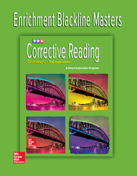 Corrective Reading Decoding Level C, Enrichment Blackline Master