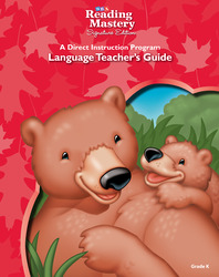 Reading Mastery Language Arts Strand Grade K, Teacher Guide