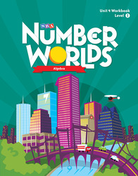 Number Worlds Level I, Student Workbook Algebra (5 Pack)