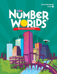 Number Worlds Level I, Student Workbook Data Analysis (5 Pack)