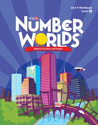 Number Worlds Level J, Student Workbook Algebra (5 Pack)