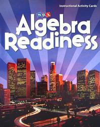 Algebra Readiness, Instructional Activity Cards