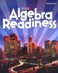 Algebra Readiness, Assessment Blackline Master