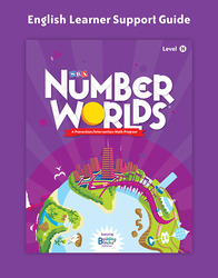 Number Worlds Level H, English Learner Support Guide