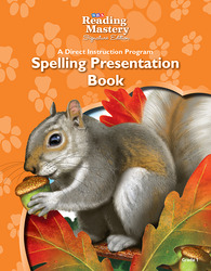 Reading Mastery Reading/Literature Strand Grade 1, Spelling Presentation Book