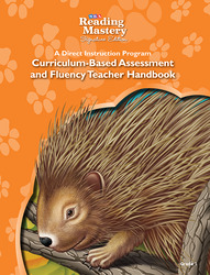 Reading Mastery Reading/Literature Strand Grade 1, Assessment & Fluency Teacher Handbook
