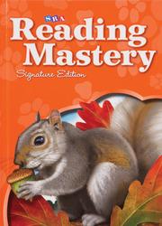 Reading Mastery Reading/Literature Strand Grade 1, Seatwork Blackline Master Book