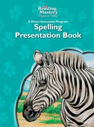 Reading Mastery Reading/Literature Strand Grade 5, Spelling Presentation Book