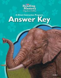 Reading Mastery Reading/Literature Strand Grade 5, Answer Key
