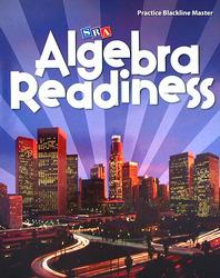 Algebra Readiness, Practice Blackline Master