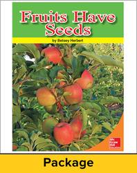 ¡Imagínalo! Leveled Readers, English Learner Reader 1 - Fruits Have Seeds (6-pack), Grade 1