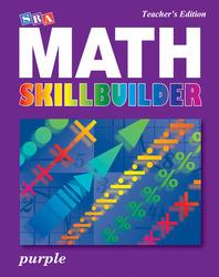 SRA Math Skillbuilder - Teacher Edition Level 8 - Purple