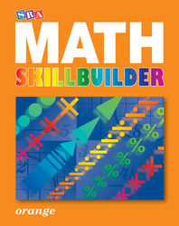 SRA Math Skillbuilder - Student Edition Level 4 - Orange