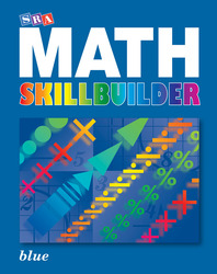 SRA Math Skillbuilder - Student Edition Level 7 - Blue
