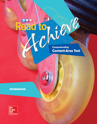 Read to Achieve: Comprehending Content Area Text, Workbook