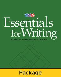 SRA Essentials for Writing Teacher Materials Package