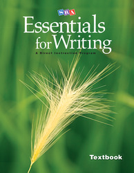 SRA Essentials for Writing Textbook