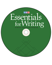 SRA Essentials for Writing Practice Software CD-ROM
