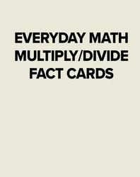EM MULTIPLY/DIVIDE FACT CARDS