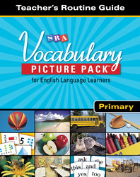 SRA Vocabulary Picture Pack - Teacher Routine Cards - Primary