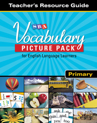 SRA Vocabulary Picture Pack - Teacher Resource Guide - Primary