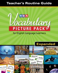 SRA Vocabulary Picture Pack - Teacher Routine Cards - Expanded