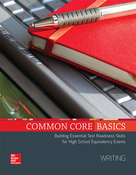 Common Core Basics, Writing Core Subject Module