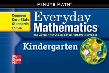 Everyday Mathematics, Grade K, Minute Math®
