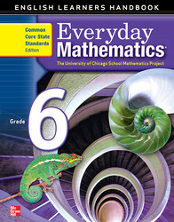 Everyday Mathematics, Grade 6, English Learner's Handbook