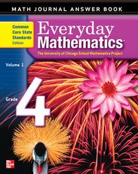 Everyday Mathematics, Grade 4, Journal Answers Teacher Book Volume 1