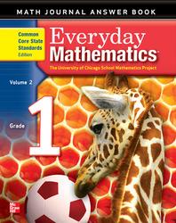 Everyday Mathematics, Grade 1, Journal Answers Teacher Book Volume 2