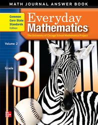 Everyday Mathematics, Grade 3, Journal Answers Teacher Book Volume 2