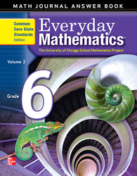 Everyday Mathematics, Grade 6, Journal Answers Teacher Book Volume 2