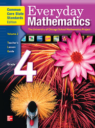 Everyday Mathematics, Grade 4, Teacher's Lesson Guide Volume 2