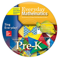 Everyday Mathematics, Grade Pre-K, Sing Everyday! Early Childhood Music CD (English & Spanish)