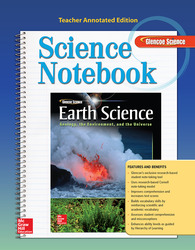 Glencoe Earth Science: GEU, Science Notebook, Teacher Annotated Edition