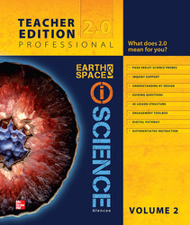 Glencoe Earth & Space iScience, Grade 6, Teacher Edition, Volume 2