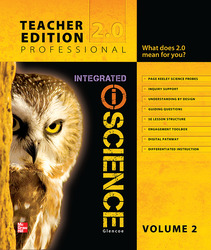 Glencoe Integrated iScience, Course 3, Grade 8, Teacher Edition, Volume 2
