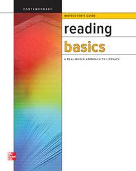 Reading Basics, Instructors Guide